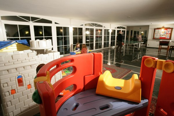 La sala giochi Hotel Alexander