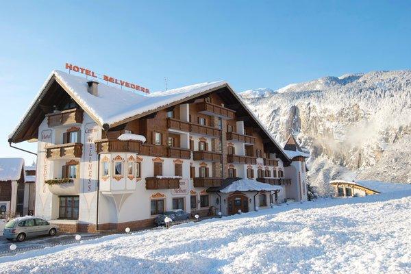 Foto invernale di presentazione Belvedere - Hotel 3 stelle sup.