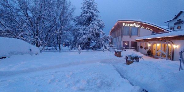 Foto esterno in inverno Belvedere