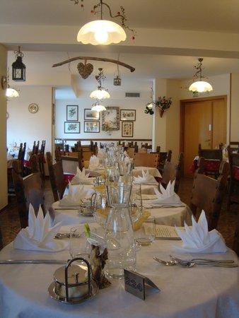 Il ristorante Andalo La Baita