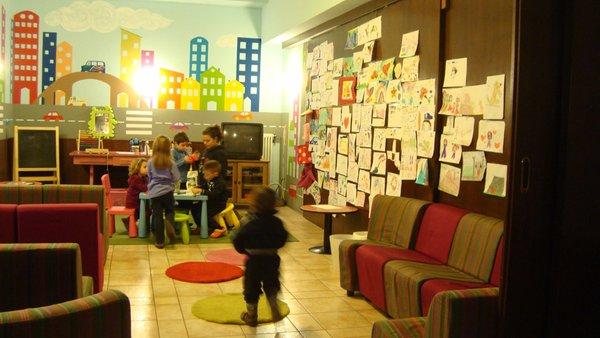 La sala giochi Hotel La Baita