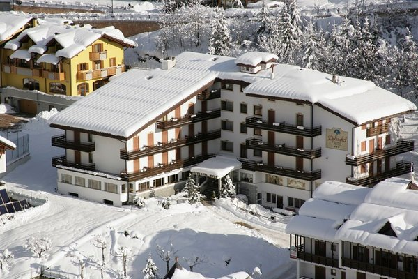 Foto invernale di presentazione Hotel Splendid