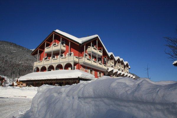 Foto invernale di presentazione La Bussola - Hotel 3 stelle sup.