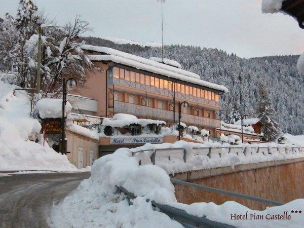 Photo exteriors in winter Pian Castello