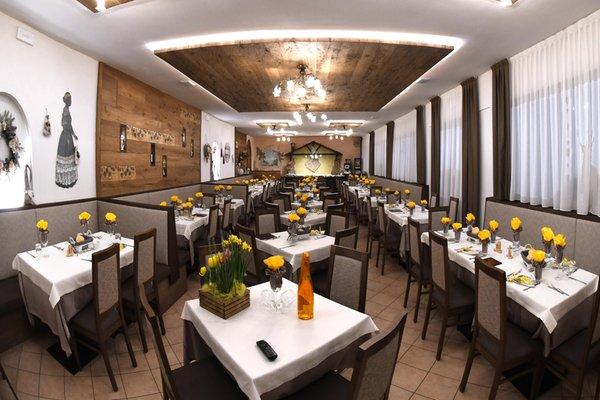 The restaurant Andalo Pian Castello