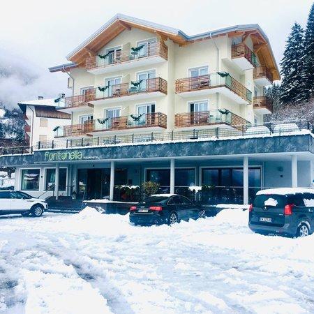 Winter presentation photo Hotel Fontanella
