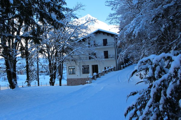 Foto invernale di presentazione Lago Park Hotel - Hotel 3 stelle