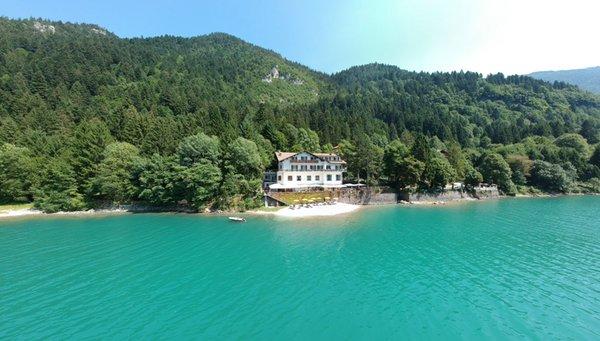 La posizione Lago Park Hotel Molveno