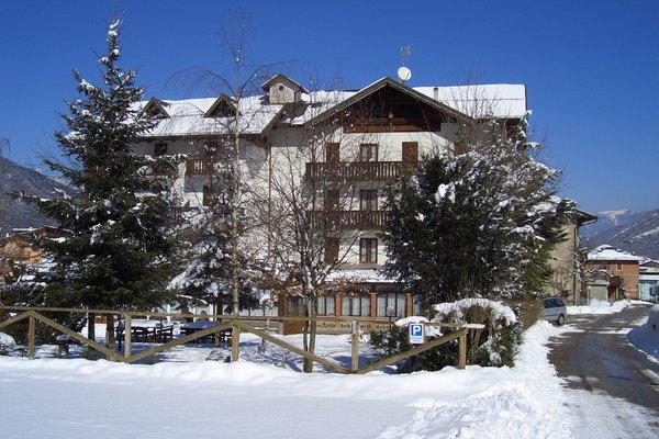 Foto invernale di presentazione Alle Rose - Hotel 3 stelle