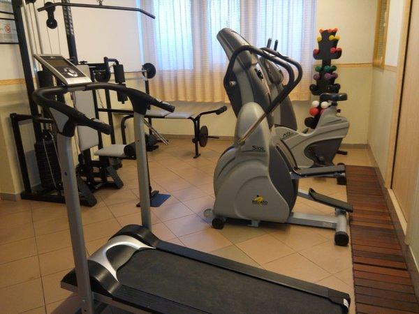 Photo of the fitness area Hotel Olisamir