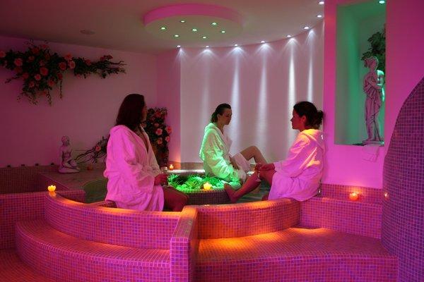 Photo of the wellness area Hotel Olisamir