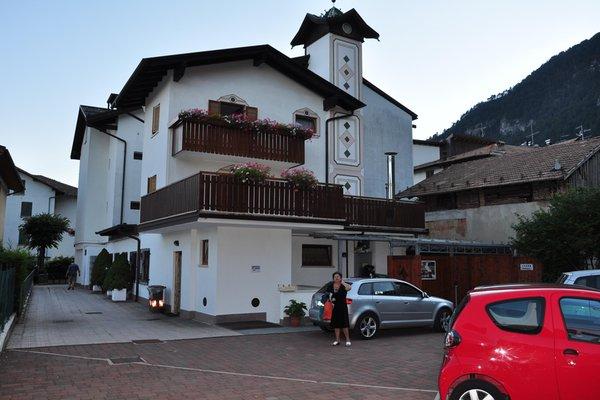 Il parcheggio Hotel Stella Alpina