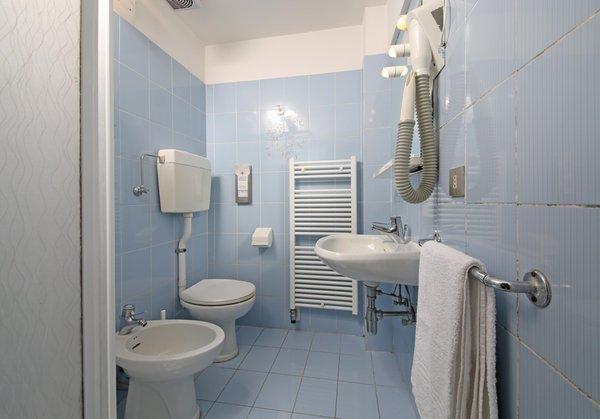 Foto del bagno Hotel Stella Alpina