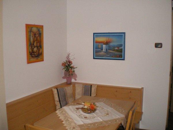 La zona giorno Arnica Hotel Garni & Appartamenti