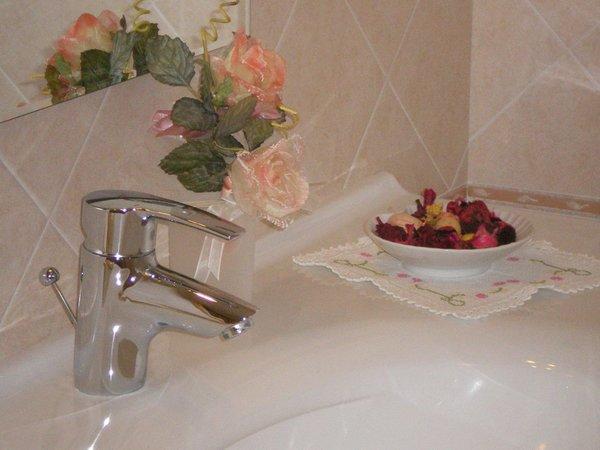 Foto del bagno Arnica Hotel Garni & Appartamenti