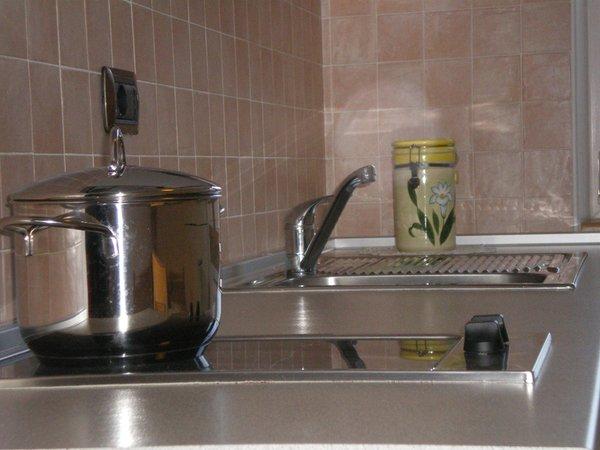 Foto der Küche Arnica Hotel Garni & Appartements