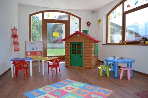 La sala giochi Residence Antares