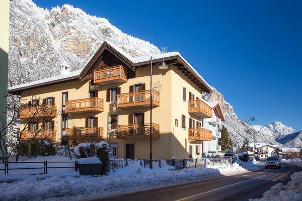 Foto invernale di presentazione Appartamenti Aquilone