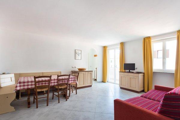 La zona giorno Appartamenti Aquilone