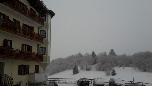 Foto invernale di presentazione La Val - Appartamenti 4 genziane