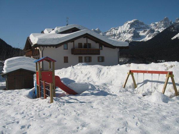 Photo exteriors in winter Bazzanella