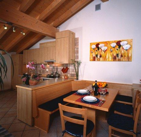 The living area Apartments Bazzanella