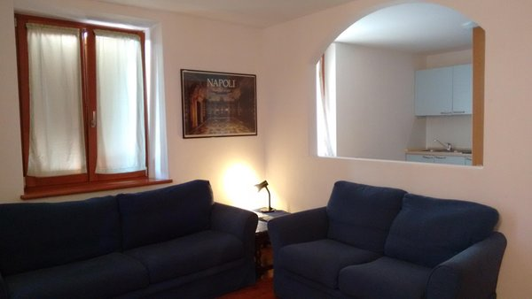 Il salotto Appartamenti Casa Adamello