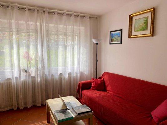 Der Wohnraum Ferienwohnungen Casa Pallanch
