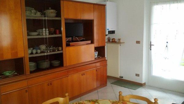 La zona giorno Viola Arrigo - Appartamenti 3 genziane