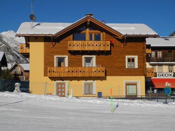 Foto invernale di presentazione Appartamenti Casa Vito