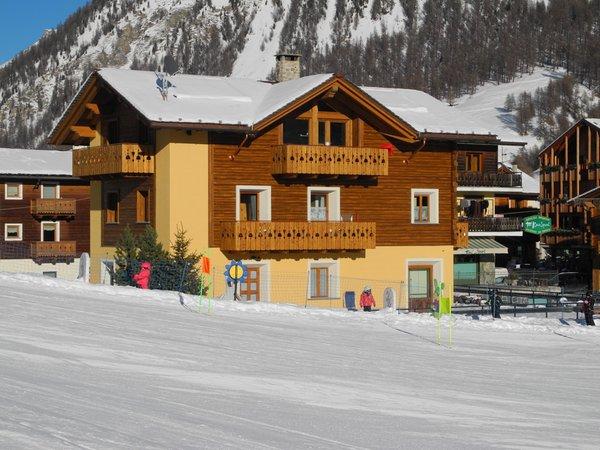 Foto esterno in inverno Casa Vito