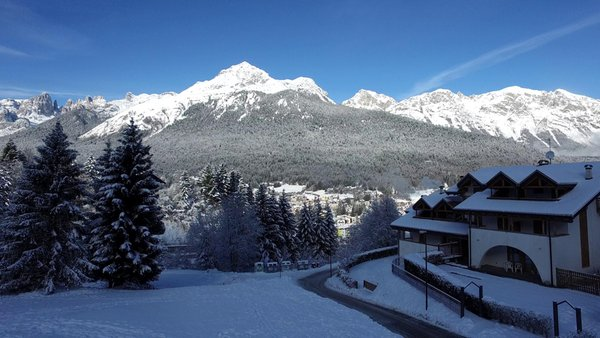 Foto esterno in inverno Rì de la Clama