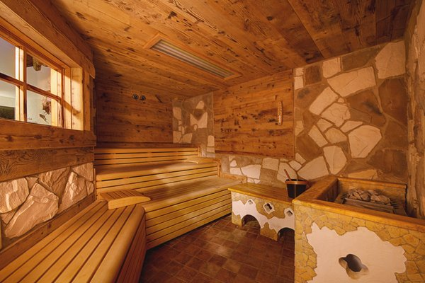 Photo of the sauna Molveno