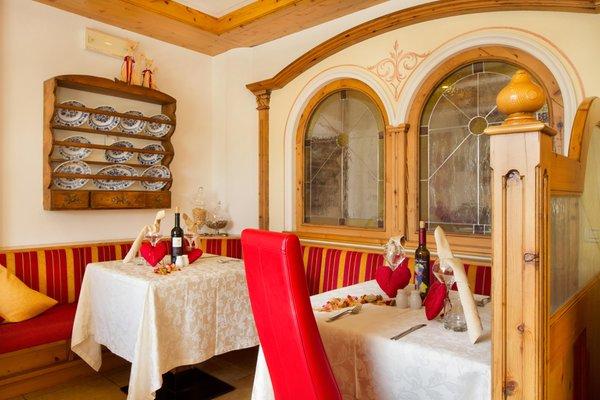 The restaurant Molveno Alpotel Dolomiten
