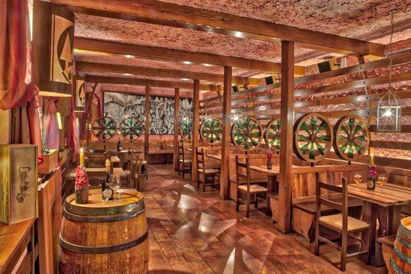 The restaurant Molveno La Botte