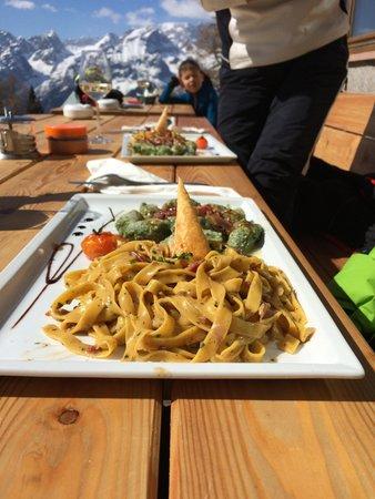 Ricette e proposte gourmet Malga Zambana