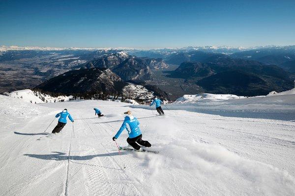Winter Präsentationsbild Tourismusverein Dolomiti Paganella