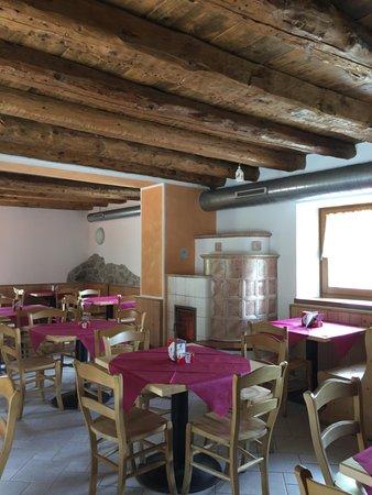 The restaurant Andalo Terlago