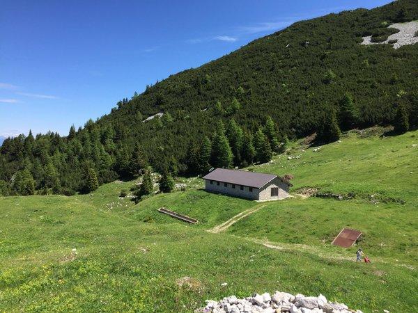 Position Alpine farm Terlago Andalo