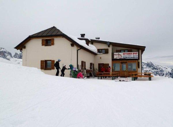 Winter presentation photo Alpine farm Terlago