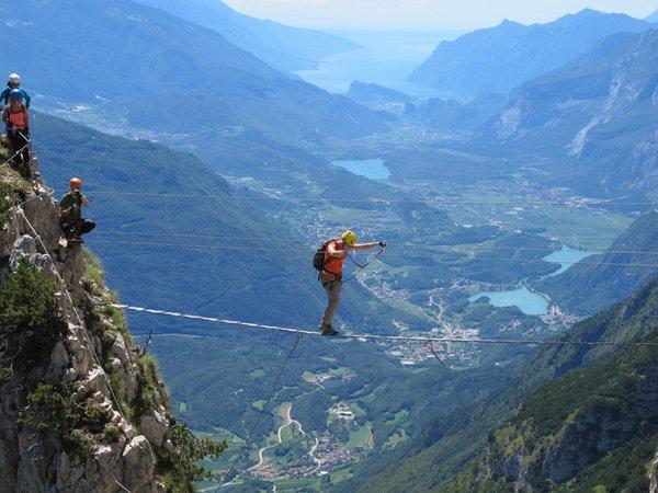 Summer presentation photo Mountain guides Adamello Dolomiti di Brenta
