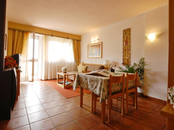 Der Wohnraum La Roche Hotel Appartements