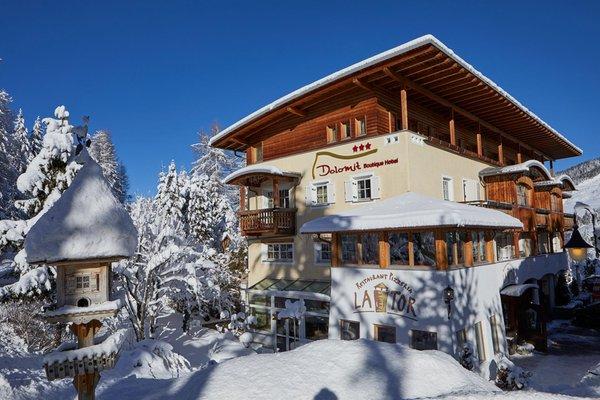 Winter Präsentationsbild Dolomit Boutique Hotel - Hotel 3 Sterne