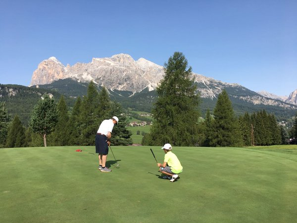 Präsentationsbild Golf Club Cortina