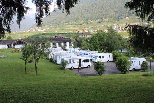 Foto estiva di presentazione Trentino Wild - Area attrezzata camper
