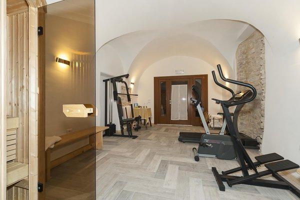 Foto della zona fitness Hotel Due Spade