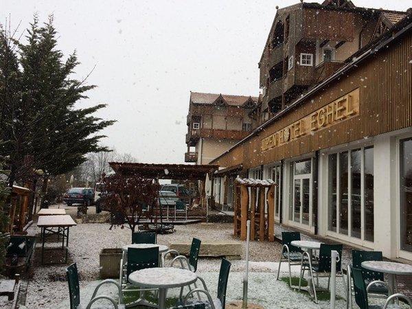 Foto invernale di presentazione Alpen Hotel Eghel - Hotel 3 stelle sup.