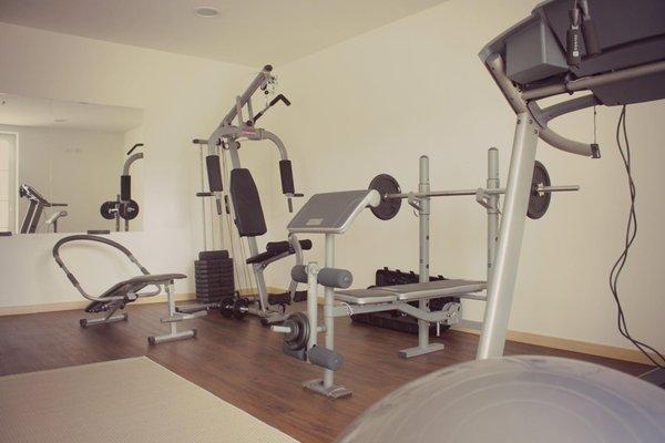 Foto della zona fitness Alpen Hotel Eghel