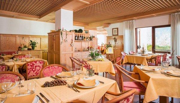 Il ristorante Folgaria Antico Albergo Stella d'Italia