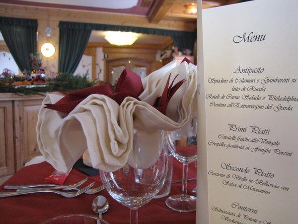 Il ristorante Folgaria Club Hotel Alpino